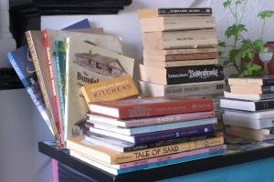 Houseproud project - books I've loved - small buildings, classic lit, graphic novels