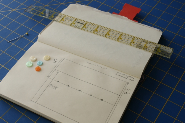 Houseproud - project journal - tiny pillow case for Edna Louise