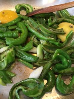 Houseproud farmers market salad peppers saute IMG_2305