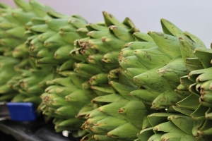 Houseproud fieldtrip farmers market artichokes IMG_1245