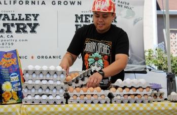 Houseproud fieldtrip farmers market eggs IMG_1229