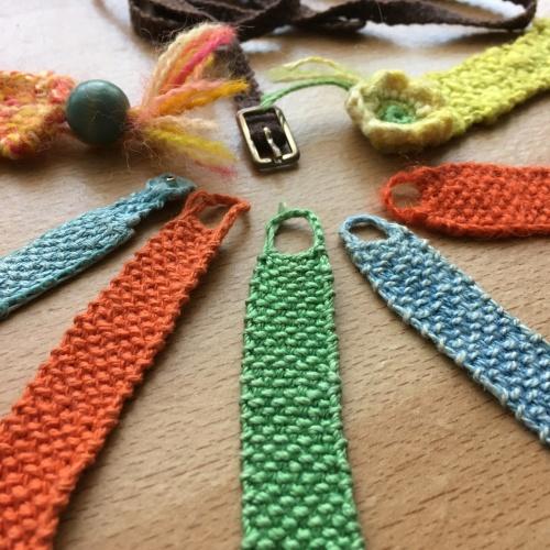 Houseproud knitted wristlettes FO closeup IMG_3159