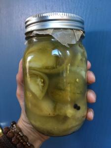 Houseproud Ferm'd Green Tomatoes IMG_3598