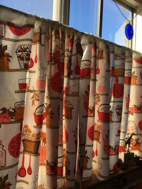 Houseproud kitchen curtains vintage print IMG_4292