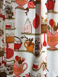 Houseproud kitchen curtains vintage print IMG_4311